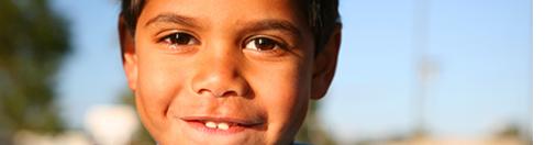 Aboriginal boy