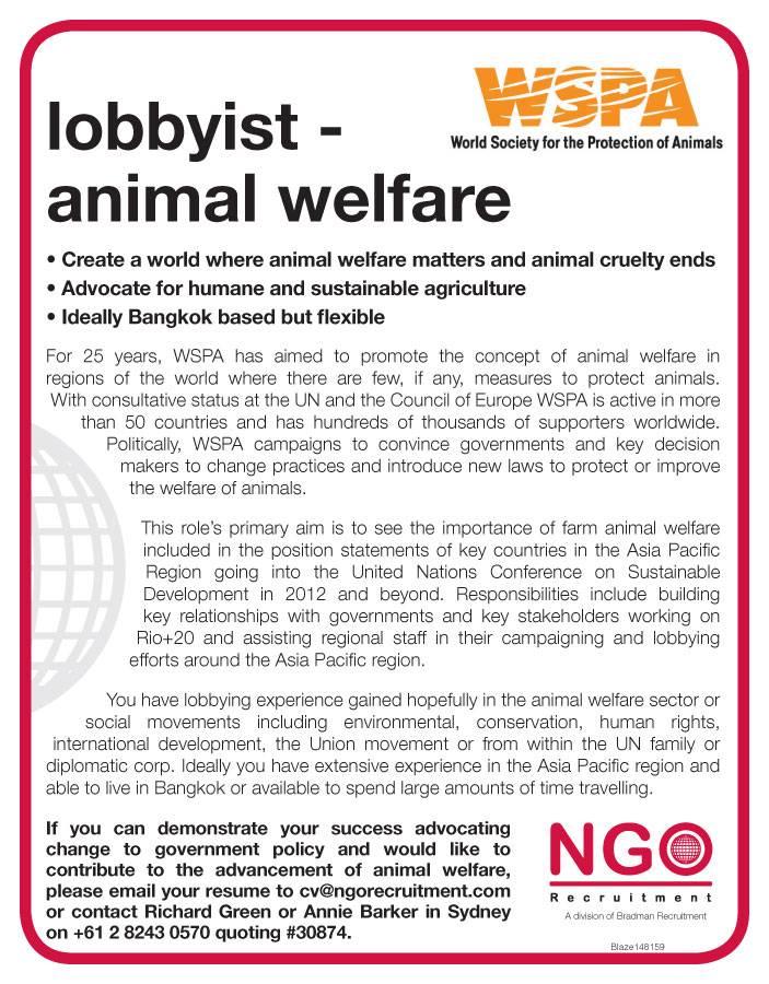 Animal Welfare Officer Sample Resume