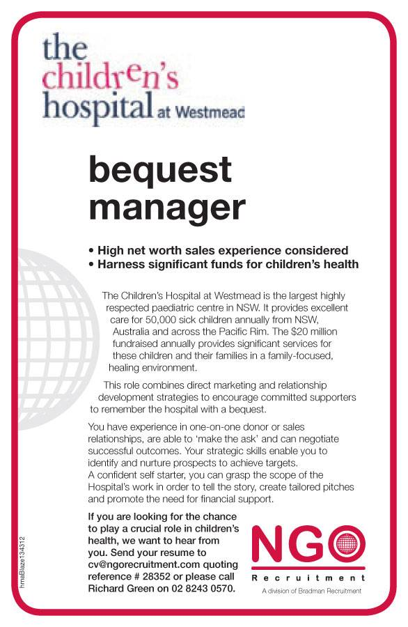 Ngo Recruitment Bequest
