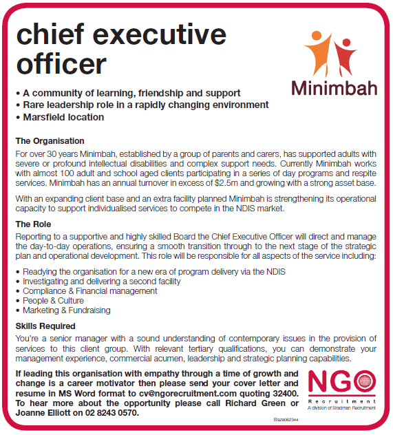 Delightful Chief Executive Officer