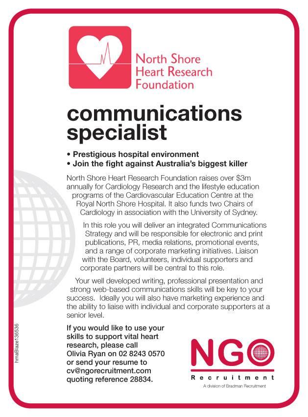 NGO Recruitment Communications and Media - NGO Recruitment