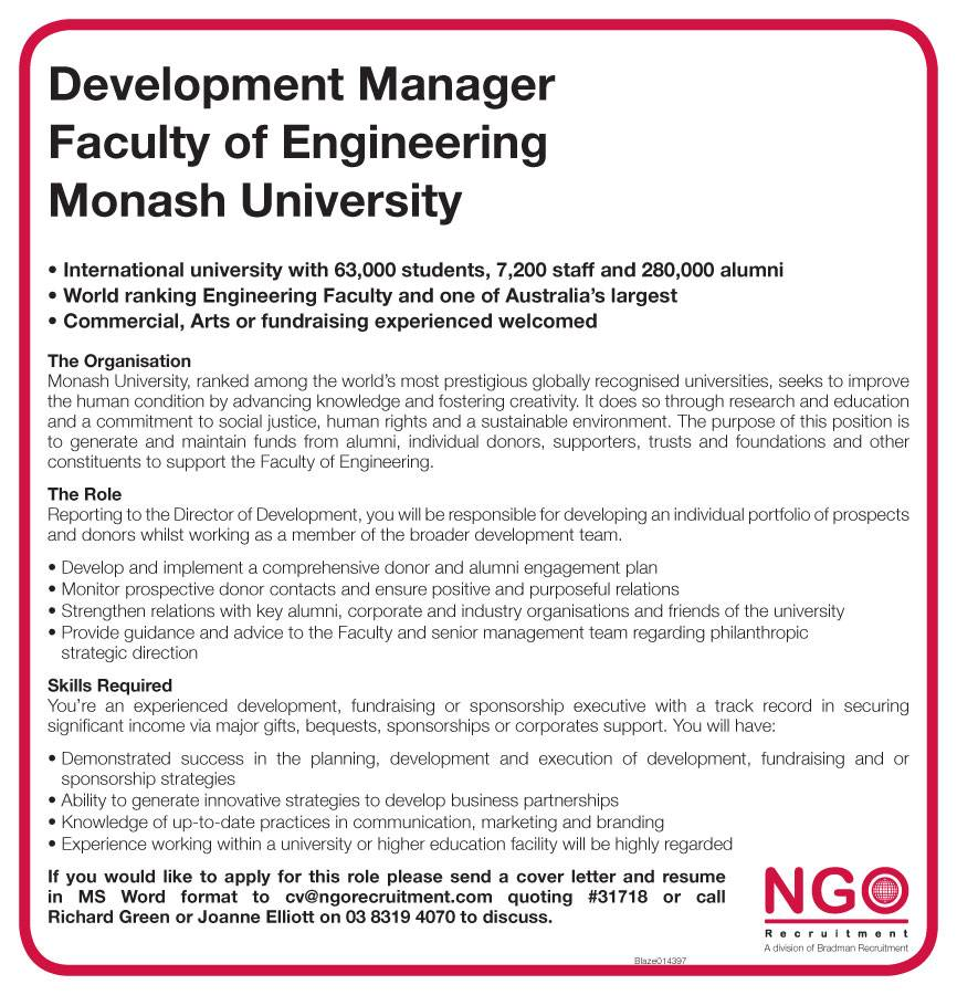 Development Manager