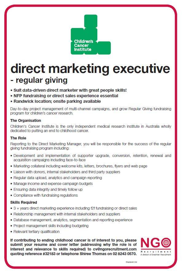 NGO Recruitment | Direct Marketing Fundraising