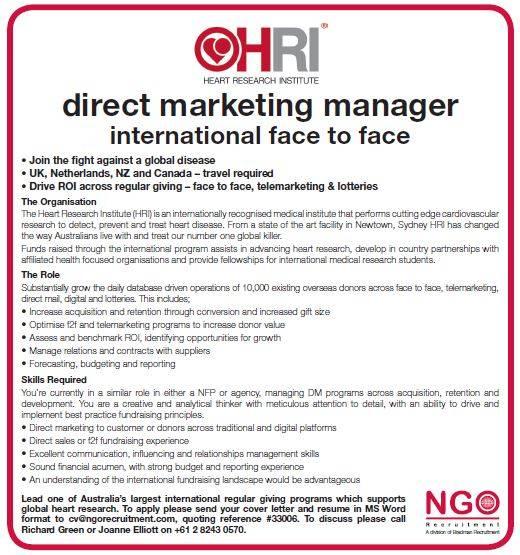 marketing of ngos