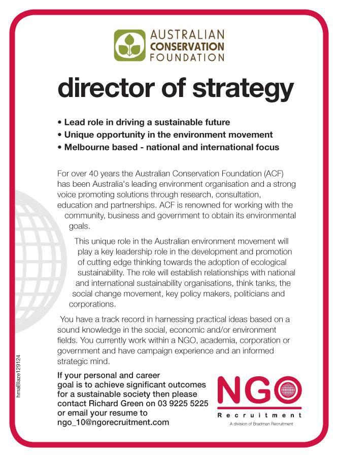 NGO Recruitment Advocacy - NGO Recruitment