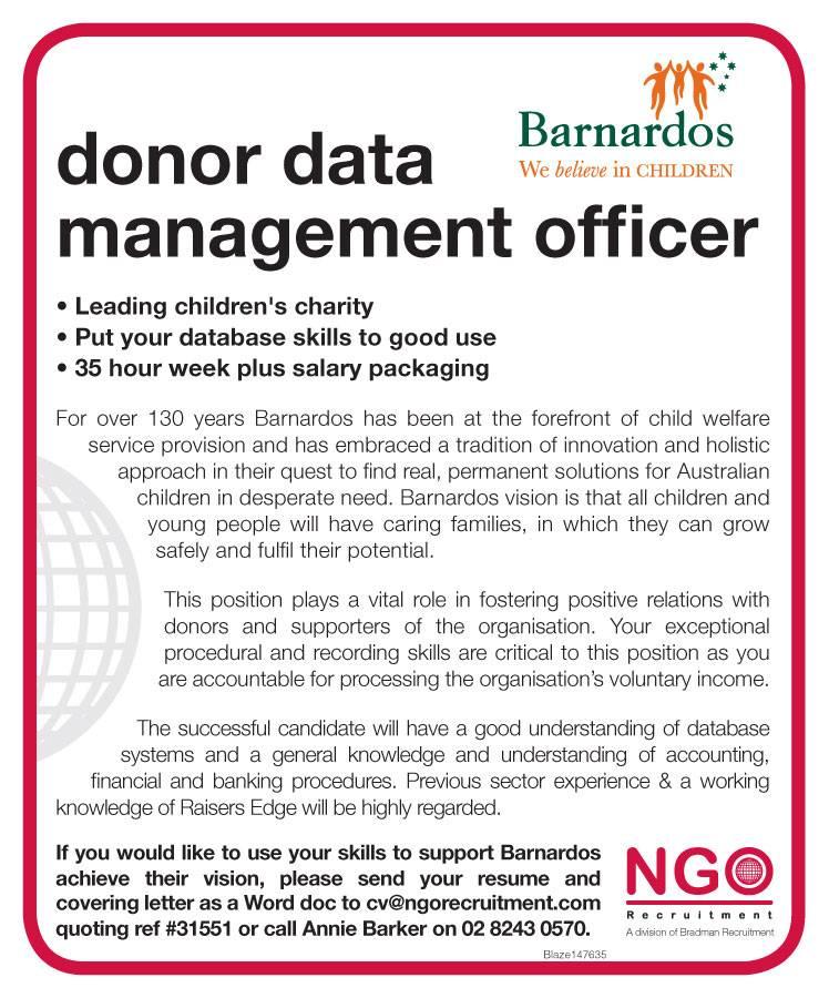 NGO Recruitment | Database