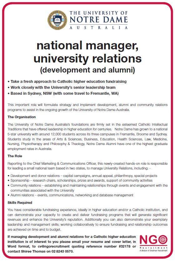 sample cover letters unc general alumni association sample cover