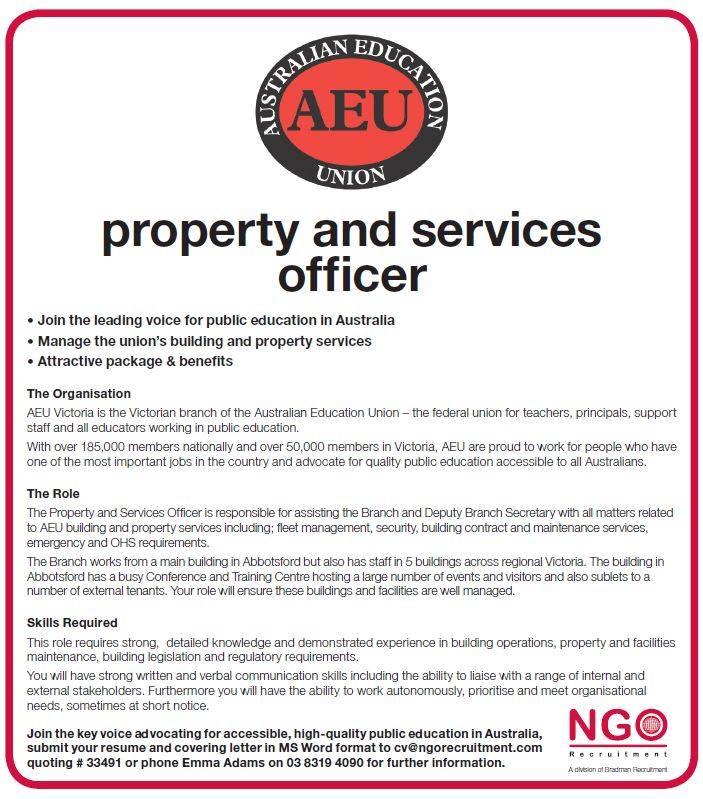 australian public service resume