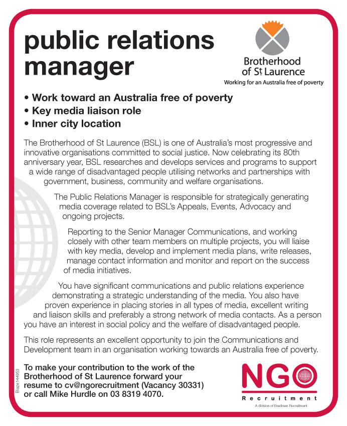 Amazing Ngo Recruitment Communications And Media Ngo Recruitment