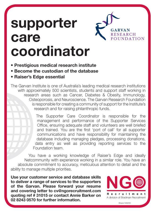 ngo recruitment donor services ngo recruitment