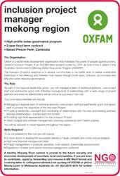 Inclusion Project Manager