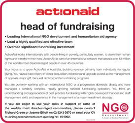 Head of Fundraising