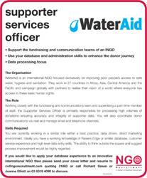 Supporter Services Officer