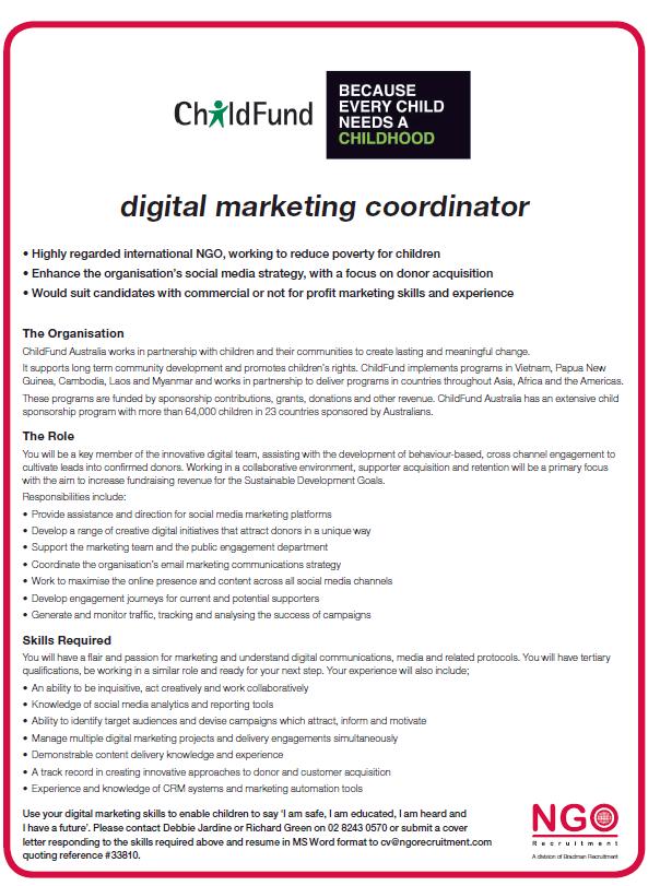 NGO Recruitment | Marketing