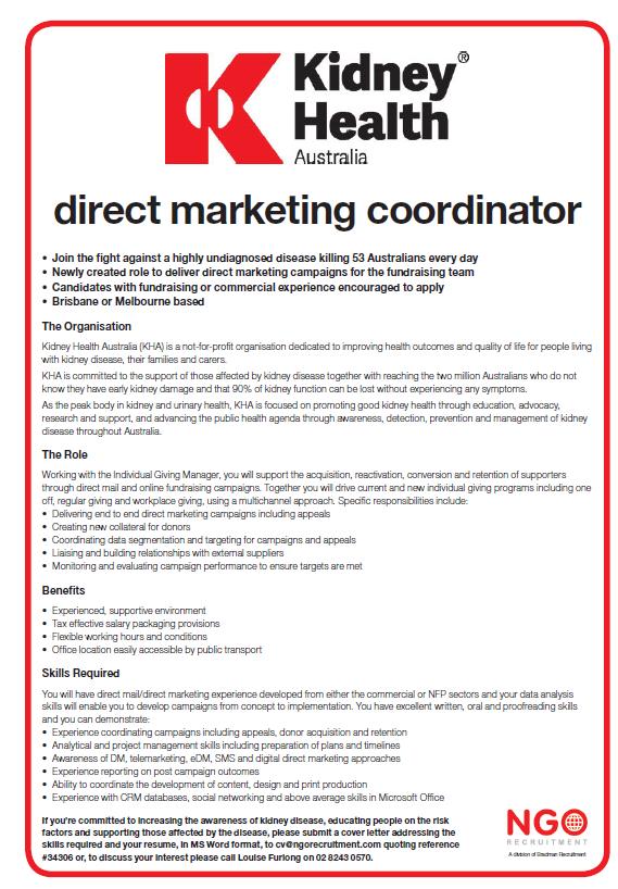 NGO Recruitment | Direct Marketing Fundraising