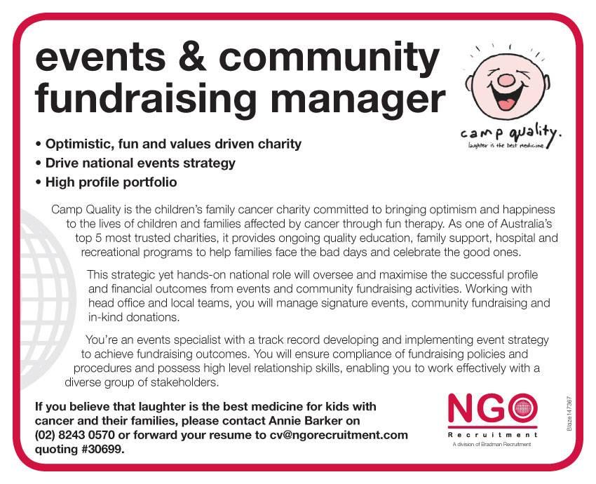 ngo recruitment events