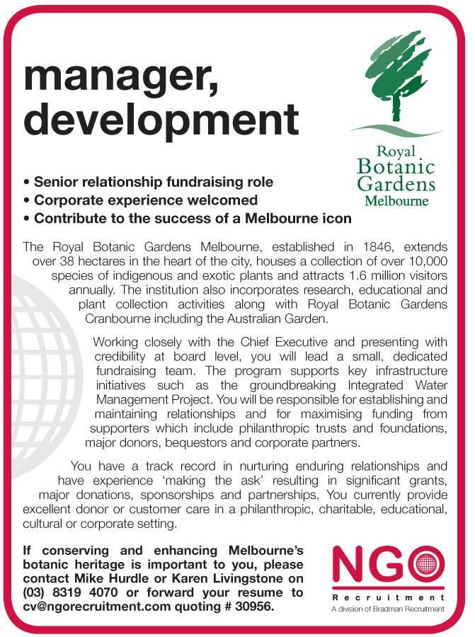 ngo recruitment business development